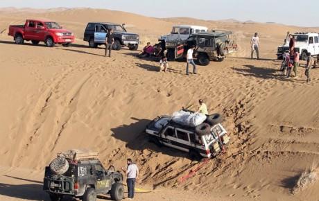 ورود خودروهای آفرود در کویر مرنجاب ممنوع نشده است!