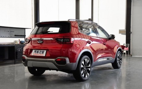X55 خودروی جدید چینی بازار ایران رونمایی شد