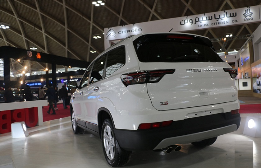 حضور قطعی شاسی بلندهای بیسو در نمایشگاه خودرو تهران
