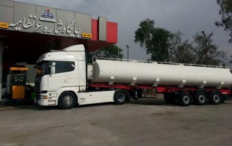 سهمیه بندی سوخت گیری کامیون داران خارجی