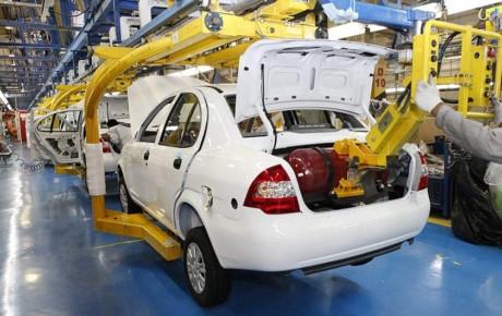 تولید خودروهای دوگانه سوز نصف شد