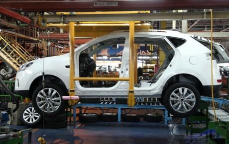 کاهش ۲.۳ درصدی تولید خودروسازان خصوصی