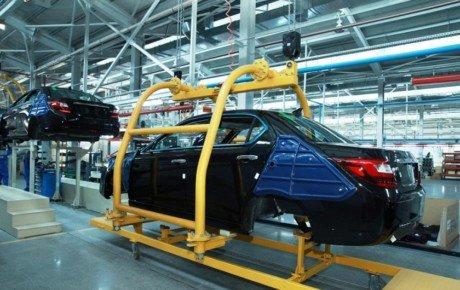 کاهش ۷۱ درصدی تولید خودرو