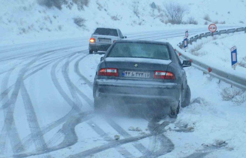 رعایت نکردن فاصله ایمن و سرعت عامل اصلی تصادفات در زمستان