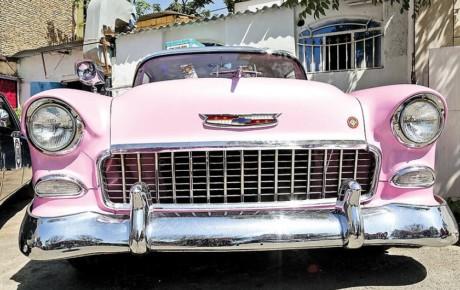 اجاره ماشین عروس کلاسیک با پیشرانه پراید!