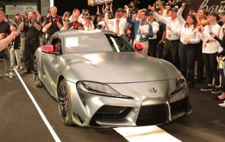 فروش نخستین مدل تولیدی تویوتا سوپرا ۲۰۲۰ به قیمت ۲.۱ میلیون دلار + تصاویر