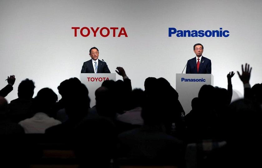 تولید باتری خودروهای برقی توسط تویوتا و پاناسونیک