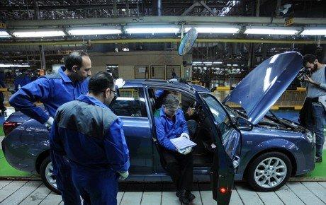 آزمایش سیستم کنترل پایداری الکترونیکی در محصولات ایران خودرو