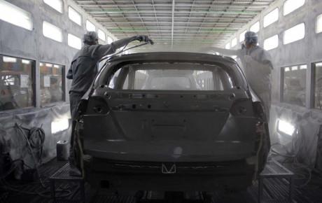 کاهش ۱۸ درصدی تیراژ خودروسازان خصوصی
