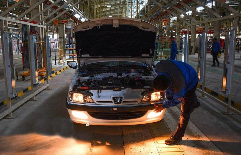 کاهش 36 درصدی تولید خودروسازان