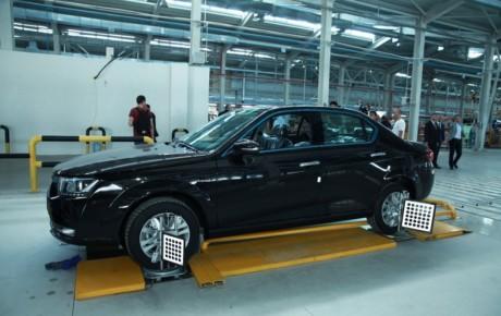 دنای تولید کارخانه آذربایجان روانه اوکراین میشود