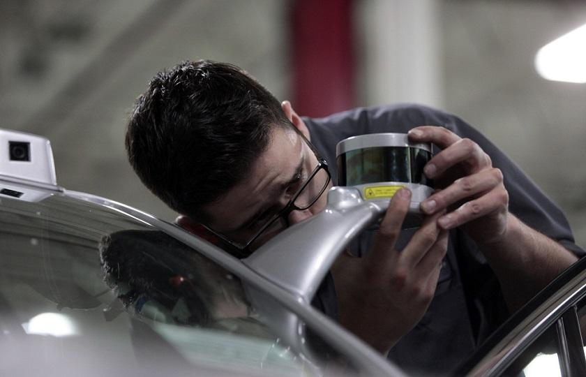 ساخت چشمان الکتریکی برای خودروهای خودران