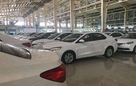 کاهش ۲۴ درصدی تیراژ خودروسازان بخش خصوصی