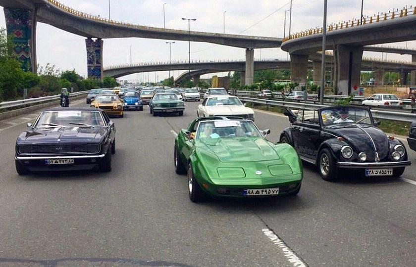 رژه خودروهای تاریخی فردا در تهران آغاز خواهد شد