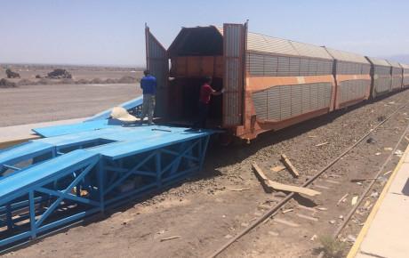 ارسال خودرو به مقاصد مختلف با قطار + جدول هزینه