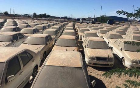 توقیف خودروهای ۳۹ شخص حقیقی و حقوقی در گمرک