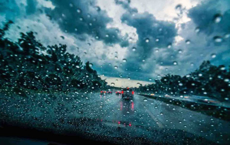 نکات مهم در خصوص رانندگی در هوای بارانی