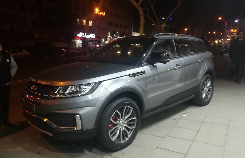 لندویند خودروی چینی در یک قدمی بازار ایران