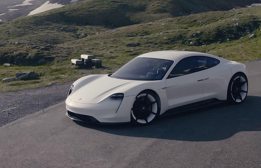 رشد تولید اولین خودروی برقی پورشه