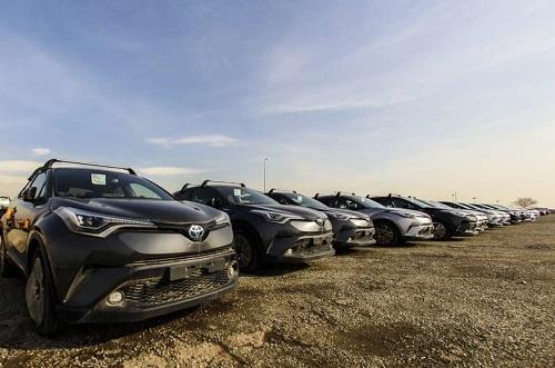 دپو خودروهای وارداتی در گمرگ غرب تهران + تصاویر