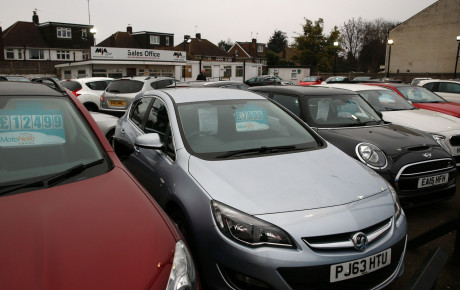 کاهش ۳.۴ درصدی تقاضای خودرو در بریتانیا