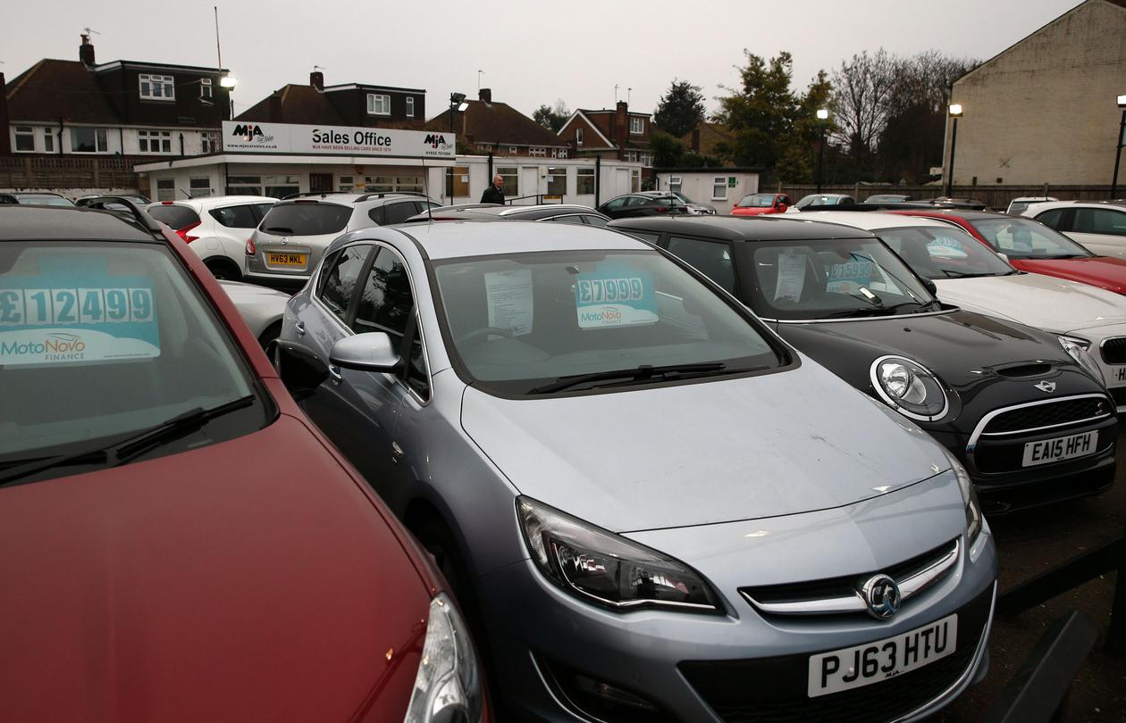کاهش 3.4 درصدی تقاضای خودرو در بریتانیا