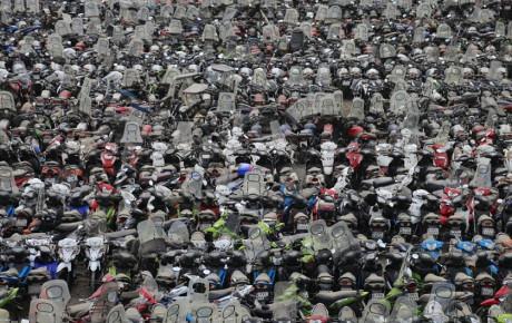 موتورسیکلتها مهمان همیشگی خیابانهای شهر