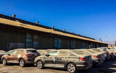 حرکت کند خودروهای وارداتی دپو شده در گمرک