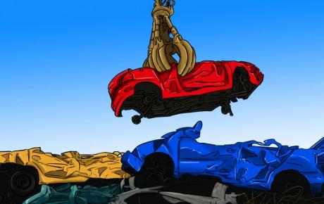 ۷ قطعه خودرویی که بیشتر از همه بازیافت میشوند