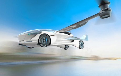خودروهای پرنده از خودروهای برقی سبقت میگیرند