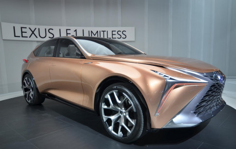 لکسوس اولین خودروی برقی بازار چین را تولید خواهد کرد