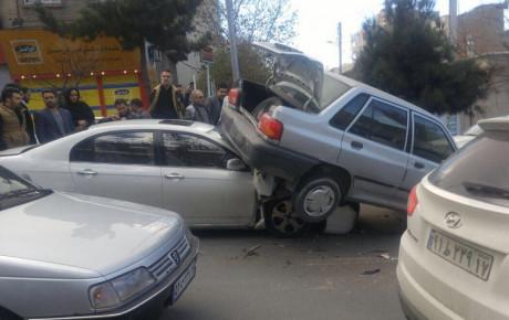 افزایش ۱.۲ درصدی تلفات حوادث رانندگی در سال ۹۷