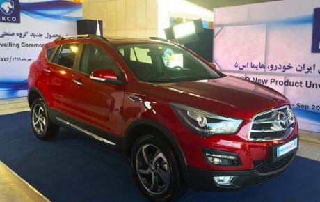 بازار خودروی ایران در انتظار 5 فیس لیفت چینی