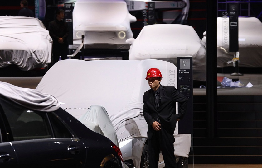 سایه رکود بر نمایشگاه خودروی شانگهای