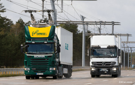 افتتاح اولین بزرگراه برقی ehighway در آلمان