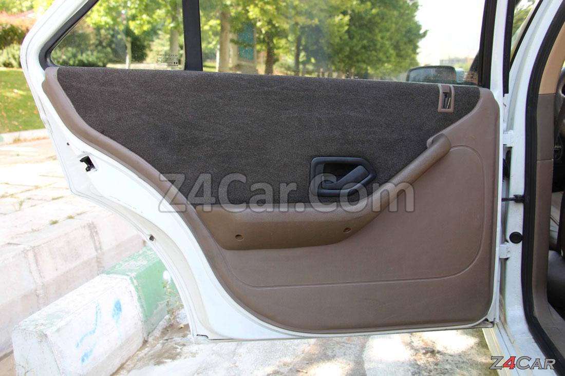 نمای داخلی درب عقب پژو پارس ELX موتور زانتیا