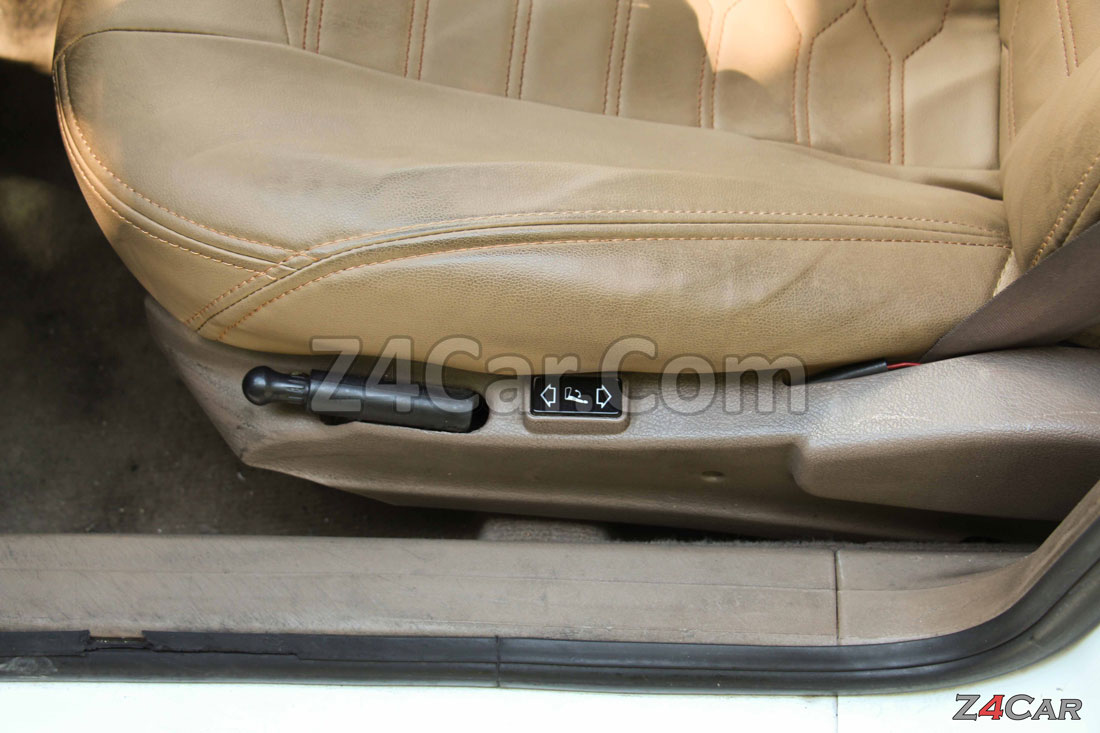 تنظیمات صندلی جلو پژو پارس ELX موتور زانتیا