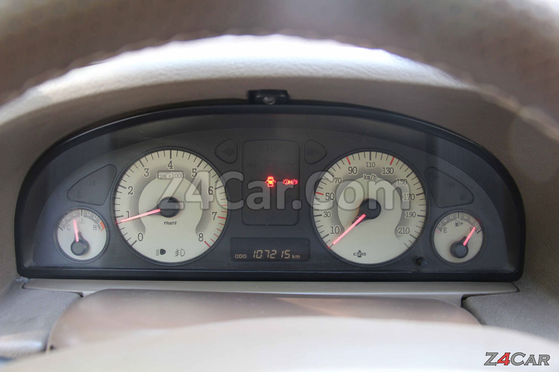 صفحه آمپر و کیلومترشمار پژو پارس ELX موتور زانتیا