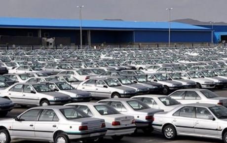 تصاویر منتشر شده از وضعیت پارکینگ ایران خودرو!