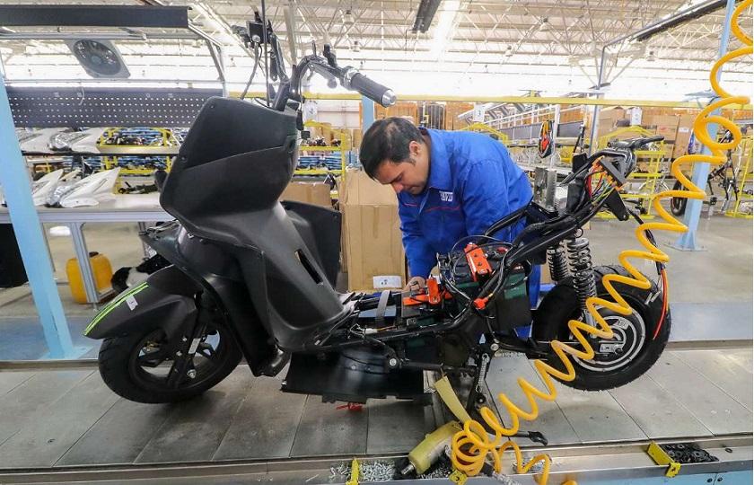 تولید موتورسیکلت به صفر رسید