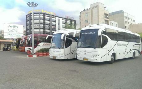 افزایش ۲۰ درصدی قیمت بلیط اتوبوس