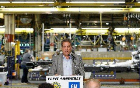 برنامه جنرال موتورز برای سرمایهگذاری ۱۵۰ میلیون دلاری در کارخانه فلینت