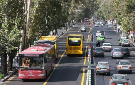 کدام دسته از خودروها اجازه تردد در خطوط ویژه را دارند؟