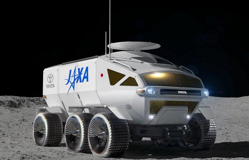 تویوتا تا 10 سال آینده خودروی خود را روی ماه میفرستد + ویدیو