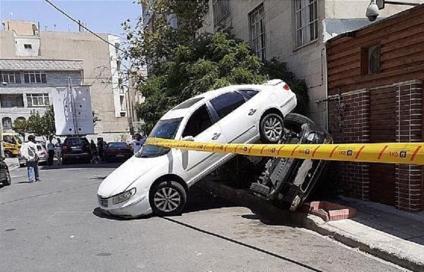تصادف جالب رانا و آزرا در خیابان فرعی + تصاویر