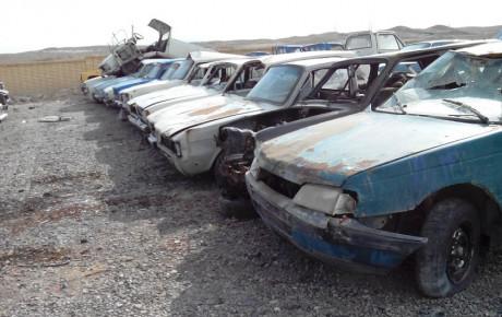 رفت و آمد بیش از ۲ میلیون خودرو فرسوده در ایران