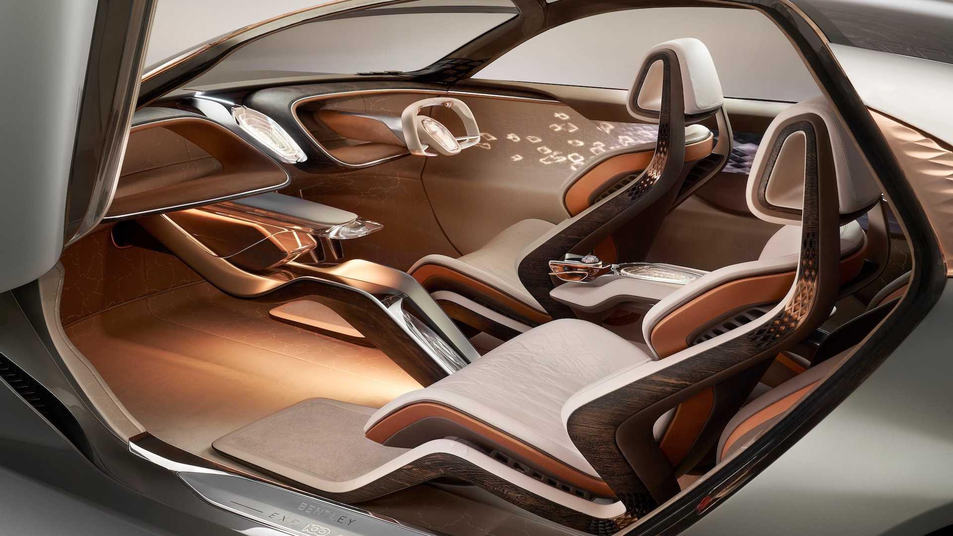 جدیدترین کانسپت بنتلی پیش نمایشی از خودروهای لوکس سال 2035 است + تصاویر