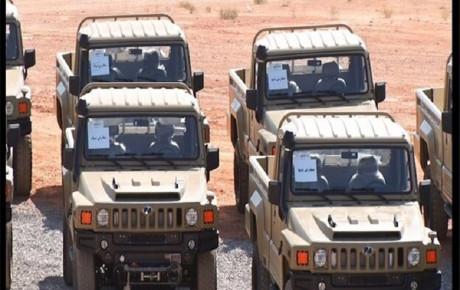 انبوه خودروهای تاکتیکی ارس ۲ تحویل نیروهای مسلح شد