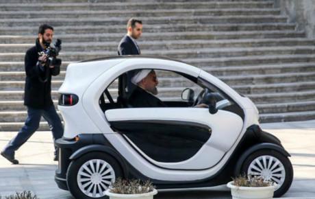 نخستین خودروی برقی ایران پلاک گذاری میشود