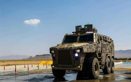 ۳ خودروی جدید نظامی ایران را بشناسید
